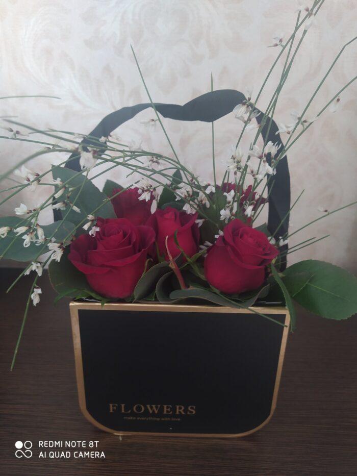 Άγιος βαλεντίνος-αποστολη λουλουδιών